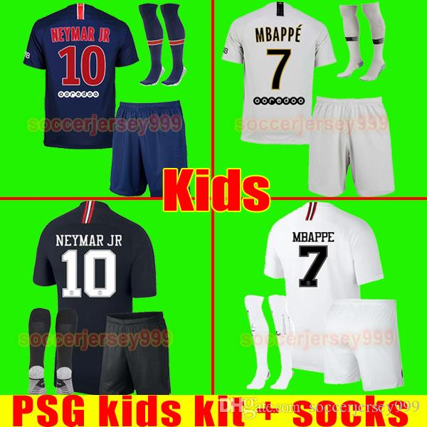 super popular 3401c 2afe1 PSG AIR JORDAN soccer jersey football shirt kids kit paris saint germain  Çocuklar futbol formaları 18 19 DANI ALVES MBAPPE NEYMAR JR 2018 2019 ...