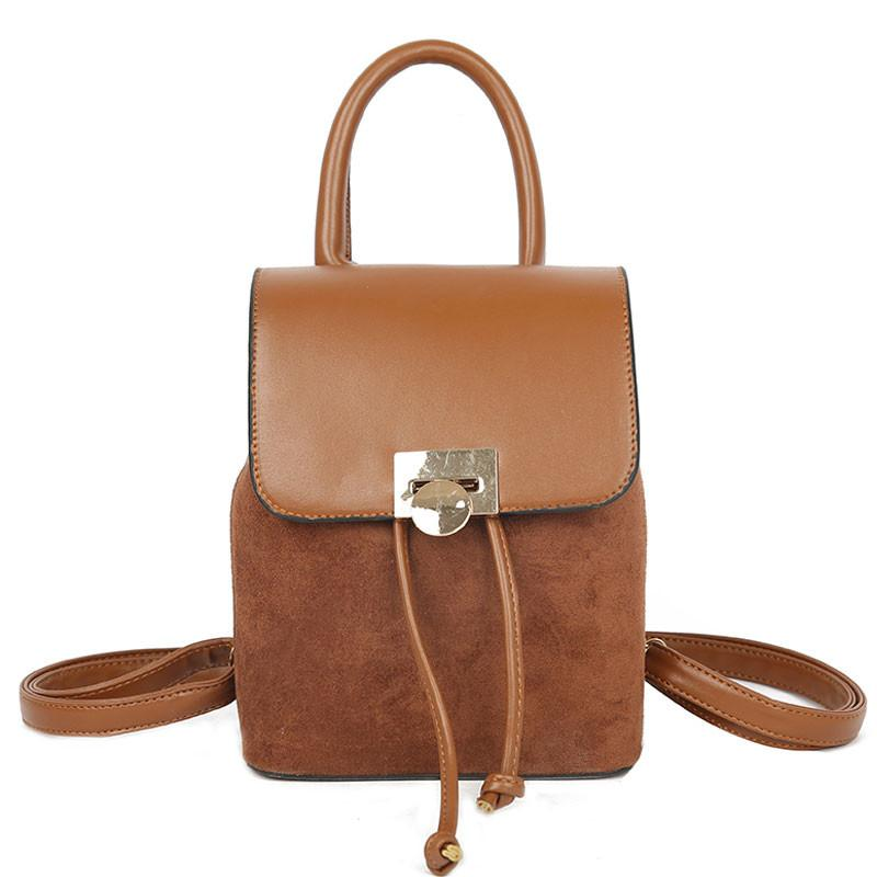 Fashion Tassel Women Backpacks Scrub Black PU Leather School Bags ... 1a28ccc2e52c7
