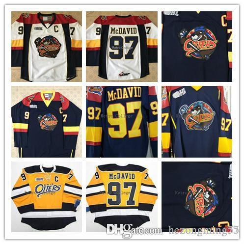 check out 8721e f9c15 Edmonton Oilers Jersey Captain C Patch #97 Connor McDavid Hockey Jersey  Embroidery Stitched Customize any number and name College Jerseys