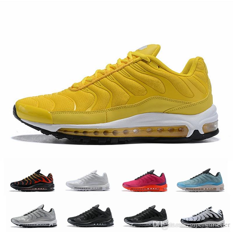 9409370a48cf9f New 97 Plus SE Tn Tuned Racer Pink Mens Running Shoes For Men ...