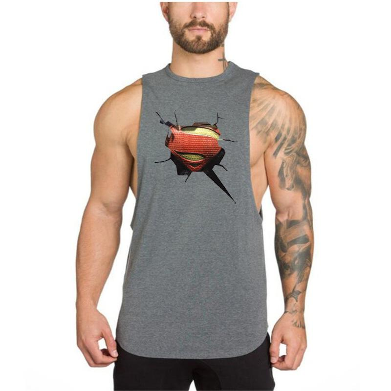 Brand Summer Clothing While Kick Ass Muscle Shirt Tank Top Gym Stringer Bodybuilding Fitness But Tanks 3d Printed man Clothes Singlets