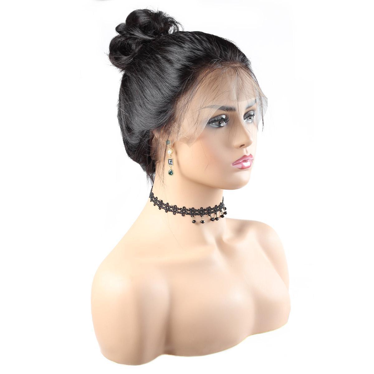 10A Onda Do Corpo Peruano Perucas 360 full lace perucas de cabelo humano 10