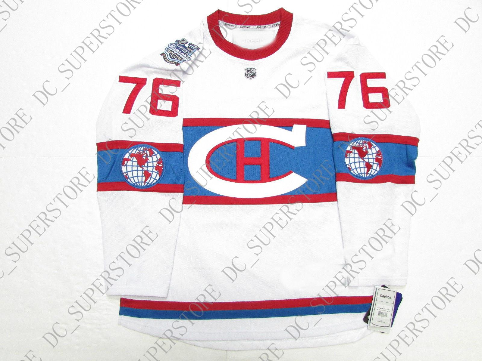 wholesale dealer 6054d e4464 Cheap custom P.K. SUBBAN MONTREAL CANADIENS 2016 WINTER CLASSIC JERSEY WITH  PATCH stitch add any number any name Mens Hockey Jersey XS-5XL