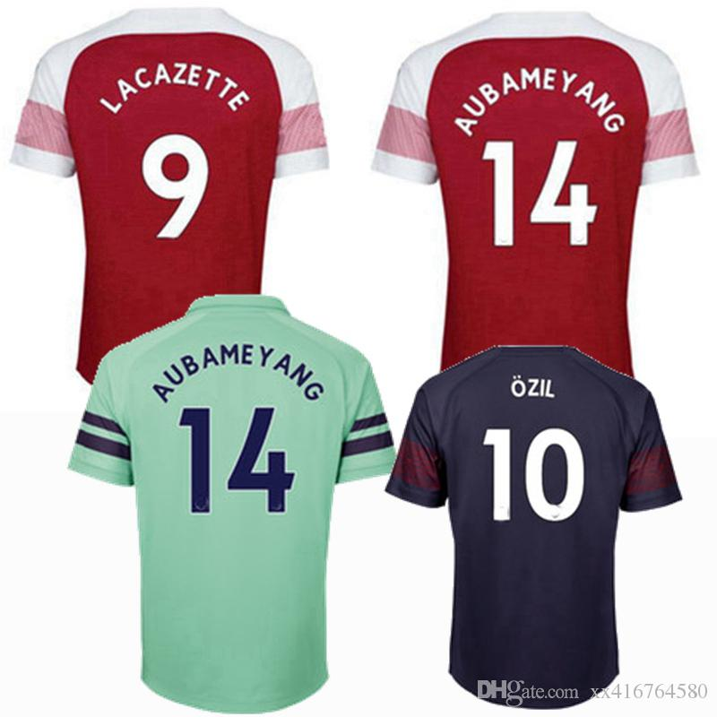 5702e9bca24 2018 2019 MKHITARYAN LACAZETTE BELLERIN RAMSEY Home Away 3rd AUBAMEYANG CAZORCA  OZIL XHAKA TORREIRA Jersey 18 19 Soccer Shirt S 2XL UK 2019 From  Xx416764580 ...
