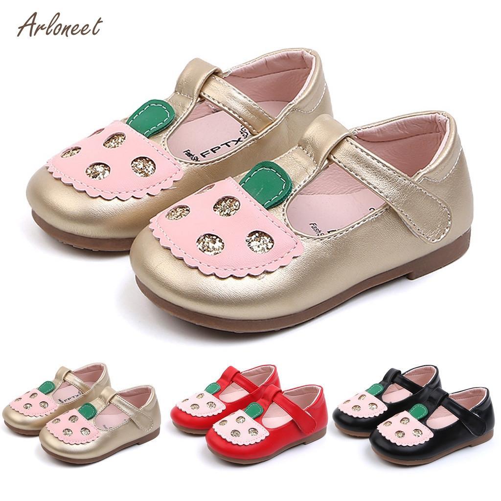 Mutter & Kinder Babyschuhe Neugeborenen Baby Mädchen Schuhe Pu Leder Schnalle Kleinkind Baby Mädchen Kinder Dot Leder Einzelnen Schuhe Weiche Sohle Prinzessin Schuhe #9