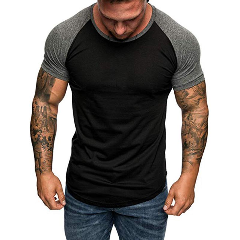 VOGUE MENS CROSSFIT FITNESS T-SHIRTS GYM RUNNING SPORTS WORKOUT PRINTED TEE