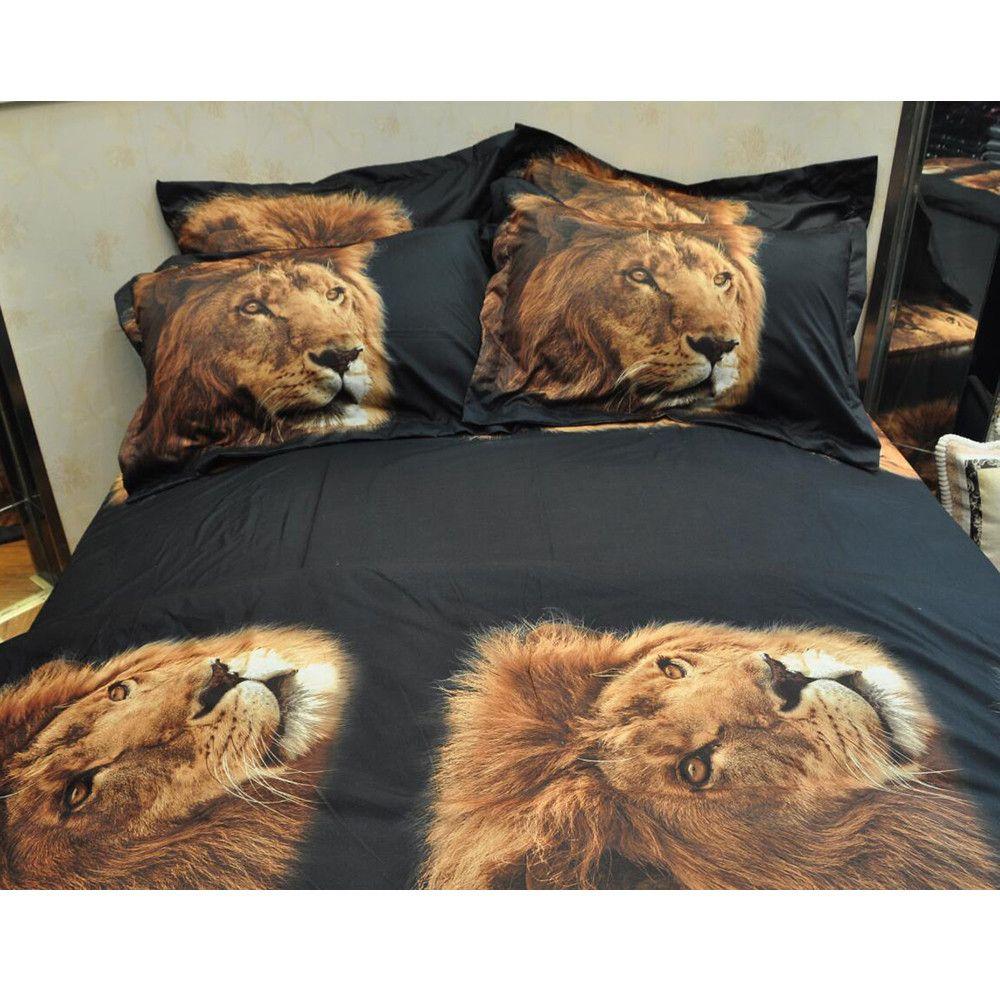 Großhandel 1 Stück Wanimal Fotodruck Bettdecke Bettbezug Bettwäsche