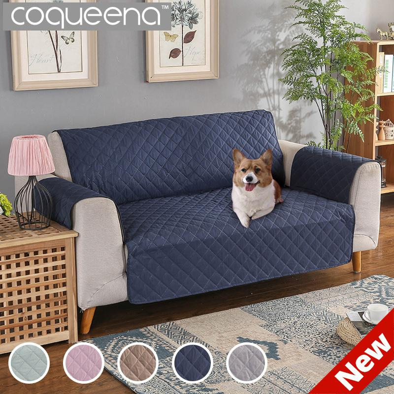 100 Waterproof Quilted Sofa Covers For Dogs Pets Kids Recliner