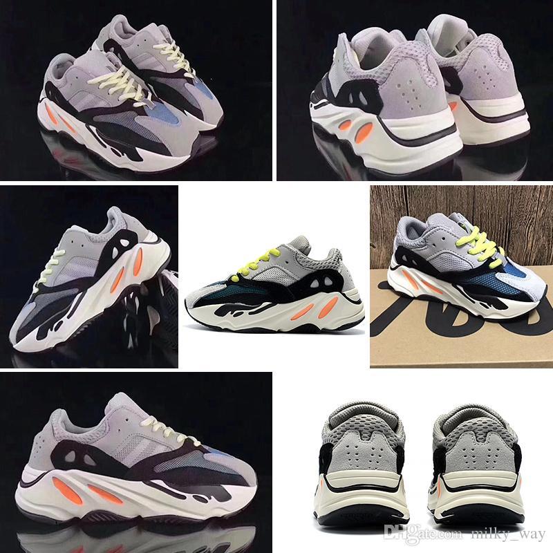 adidas Yeezy Wave Runner 700 Kinderschuhe Kanye West Wave Runner 700 Laufschuhe Kinder 700 Sportkleinkindschuhe Lässig Mit Box