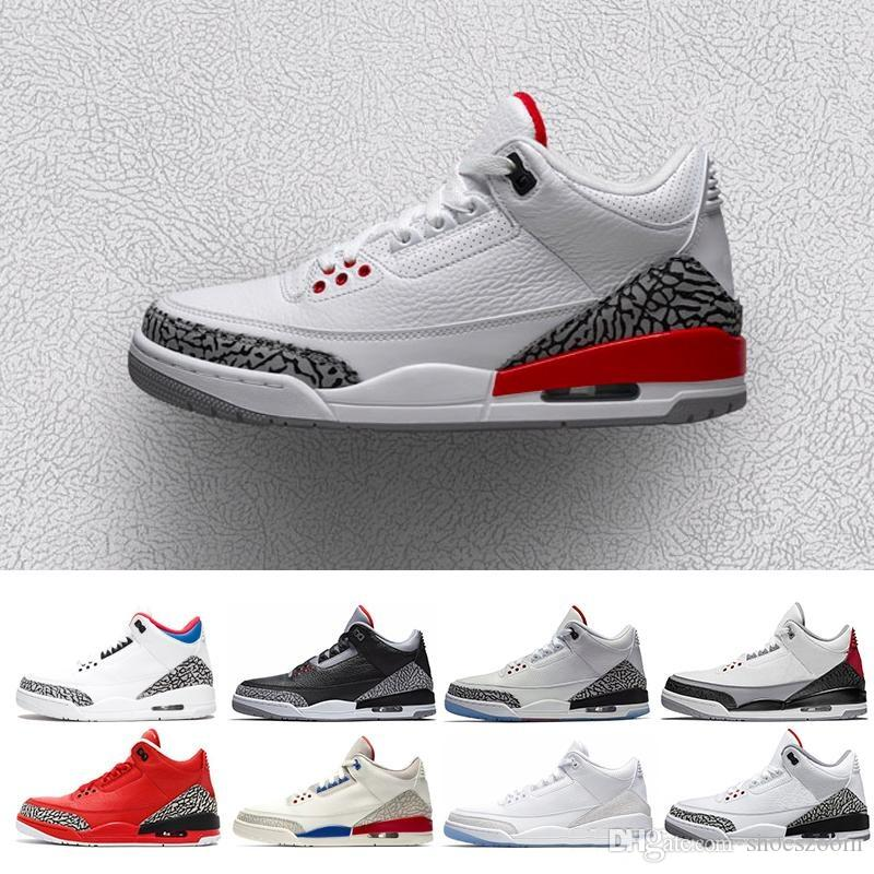 cd7aecb3ee95 2019 Mens Retro Rose Gold 3 Se Q54 Quai 54 White 1 Black Pink Basketball  Shoes Women Quai54 Sneaker 8 13 From Shoeszoom
