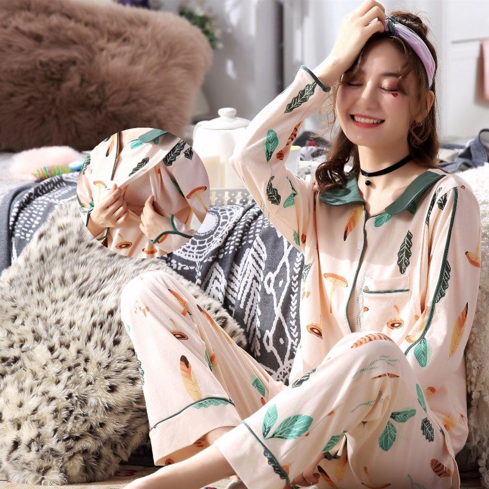 f314ae51e1 2019 Breastfeeding Pajamas Breast Feeding Nightwear Maternity Nursing  Pajama Sets Maternity Nursing Sleepwear Pregnancy Pyjama Winter From  Cassial