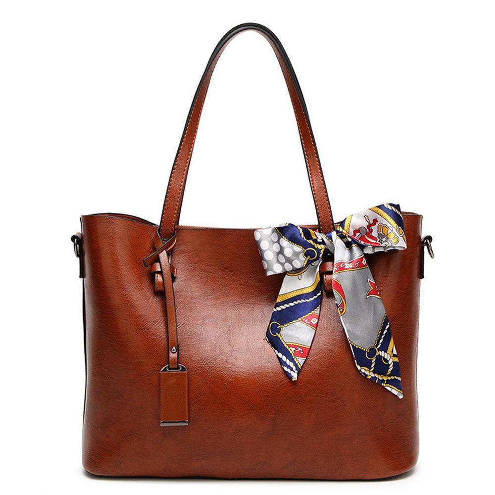 00ec66e656b7 Good Quality Woman Shoulder Bags With Scarf Luxury Handbags Women Bags  Designer High Quality Pu Leather Totes Handbag Ladies Purses Fashion Bags  From ...