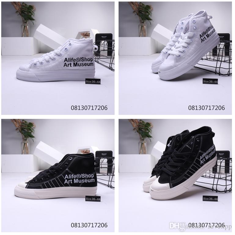 Low price Nizza Low RF designer shoes women Sneakers men black absolute gray white TOP SHOE football sneakers Campus canvas tops EUR 36-44