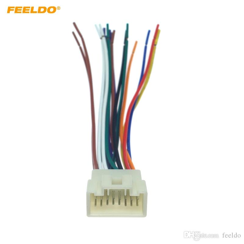 2020 Feeldo Car Stereo Radio 16pin Wire Harness For