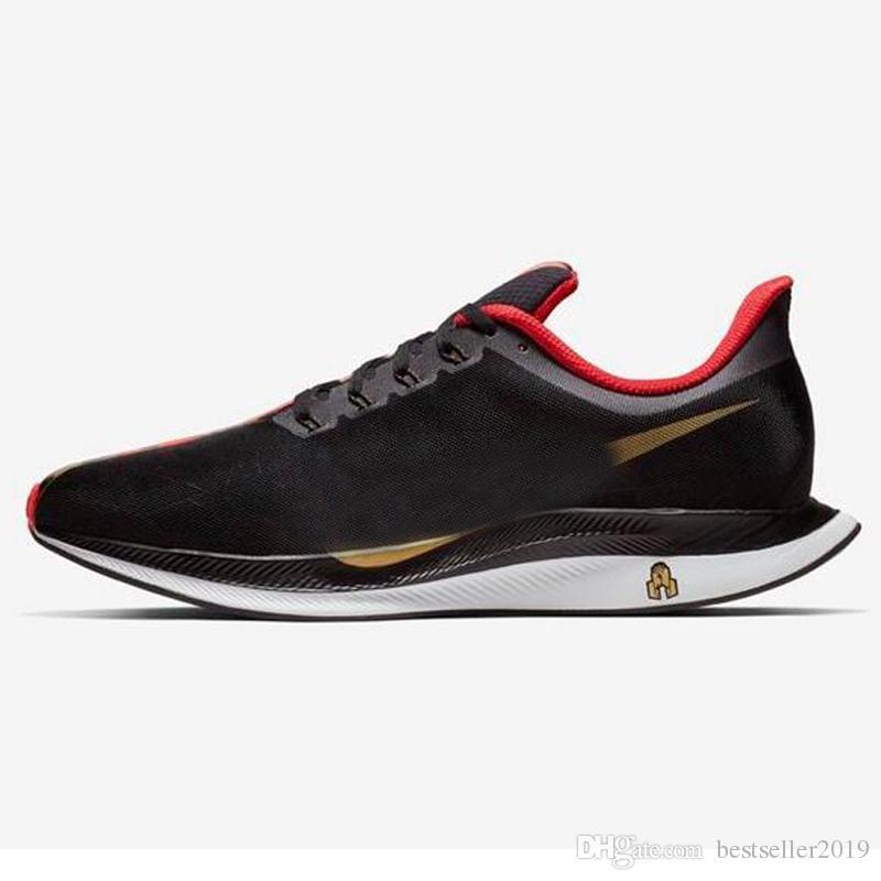 22d06a4896 Compre Designer 2019 Ano Novo Chinês CNY Zoom Pegasus Tênis De Corrida  Turbo 35 Maratona Mulheres Mens Sneakers Limitada Schuhe Respirável  Esportes De ...