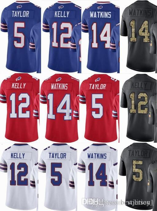d1f25f2b2ba Cheap Cleveland Browns Custom Men/youth/women #5 Tyrod Taylor 12 Jim Kelly  14 Sammy Watkins Vapor Untouchable Limited/rush/elite Jerseys
