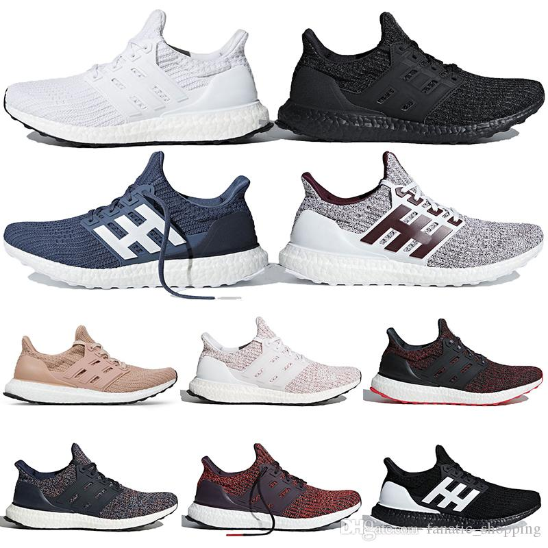 92ddaf10519 2019 Ultra Boost Running Shoes For Mens Women Show Your Stripes Burgundy  Orca Raw Desert Candy Cane Ultraboost Trainer Sports Sneakers 36 45 Running  Shoe ...