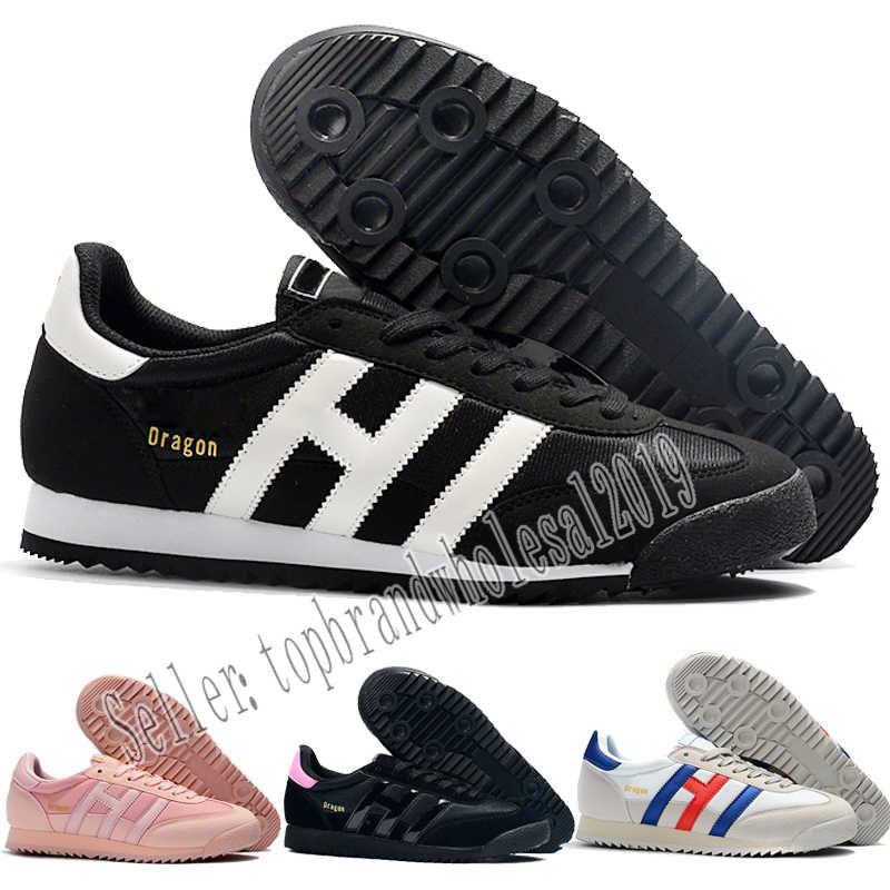 2019 Designer shoes Adidas men women Adidas Mit einem Kästchen ADDS 2019 Kostenlose Versand Originals Drachenklee Vintage Männer und Frauen Casual