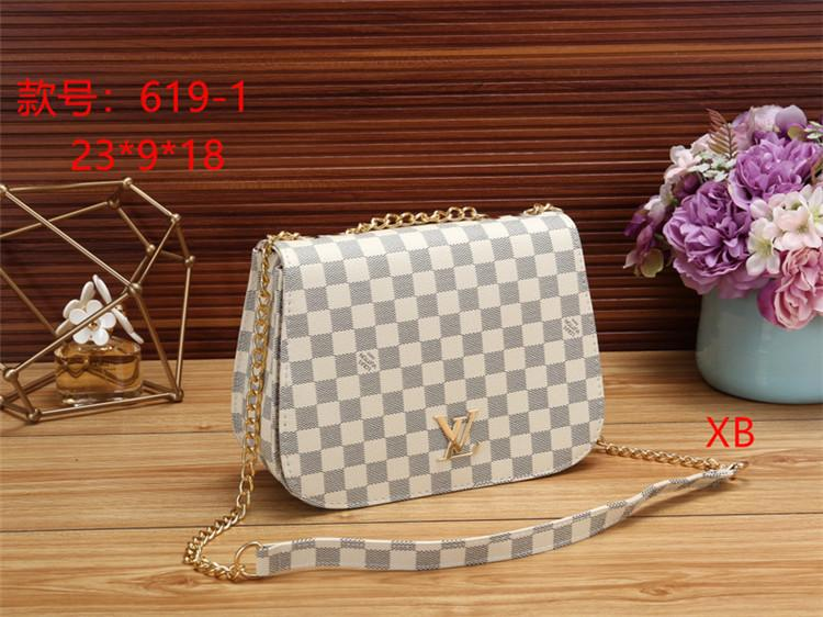 Designers handbags Purse Fashion Women Bags 619-3 Travel Leather Zipper Handbag Bag Accessories Female Designers Bag Wallet XRIX
