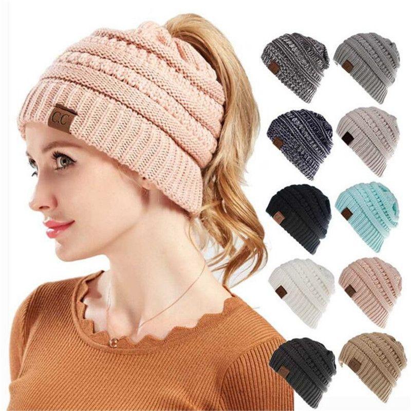 Women Winter Hat Knitted Wool Cap Beanies Unisex Casual Hats New Trendy  Warm Skullies Beanie Christmas Gift Slouchy Beanie Crochet Pattern Baby Boy  Hats ... 98ff72f71
