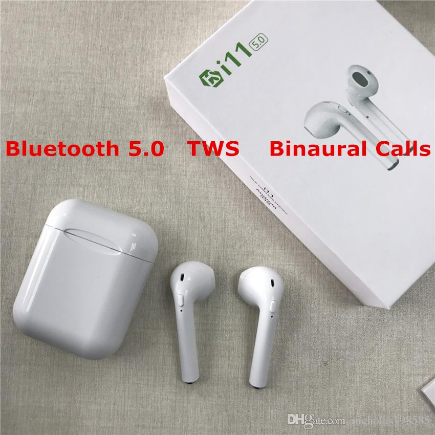 I11 Pk I7s I9s Tws Bluetooth 50 écouteur Binaural Appels Sans Fil écouteurs In Ear Casque Mains Libres Avec Boîte De Recharge Pour Ios Android