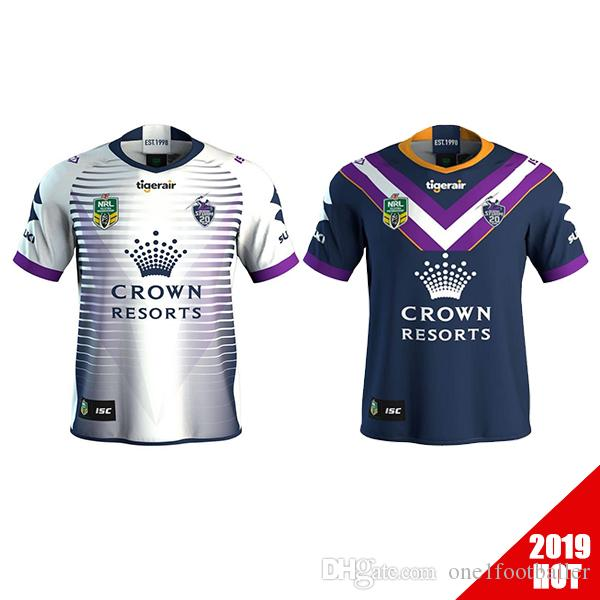 8b7d07c5e73 2019 Newest Melbourne Storm 2018 2019 Home Away Rugby Jerseys NRL National  Rugby League Shirt Nrl Jersey 18 19 MELBOURNE STORM Shirts S 3xl From ...