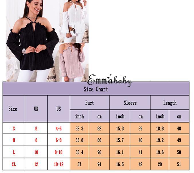 Cinghia sexy estate nuova delle donne V Neck Vest maniche lunghe del carro armato Shirt Blouse