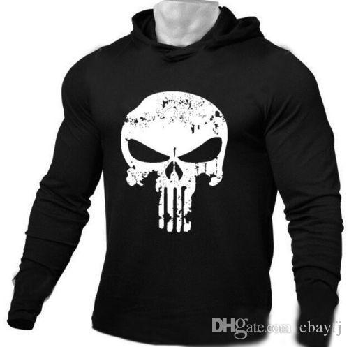4eb630be57c Mens punisher skull hoodies printing hoodie long sleeve jpg 500x497 Punisher  skull sweatshirt