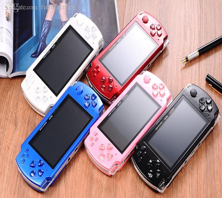 2019 hot 4.3 Inch PMP Handheld Game Player MP3 MP4 MP5 Player Video FM Camera Portable 8GB Game Console Free Shipping