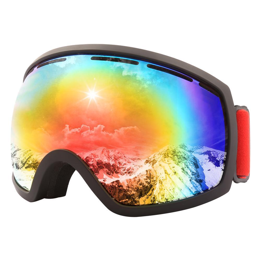 Winter Ski Goggles Snow Snowboard Goggles Anti-fog Big Ski Mask Glasses Uv Protection For Men Women Youth Skiing Eyewear Sports & Entertainment