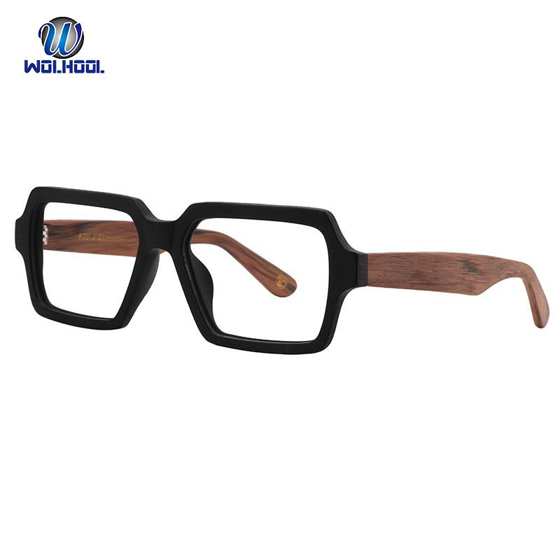 4a24a5114a0 2019 Acetate Spectacles Rectangle Men Optical Eyeglasses Frames Myopia  Prescription Glasses Frame Fake Glasses For Drop Shipping From  Marquesechriss