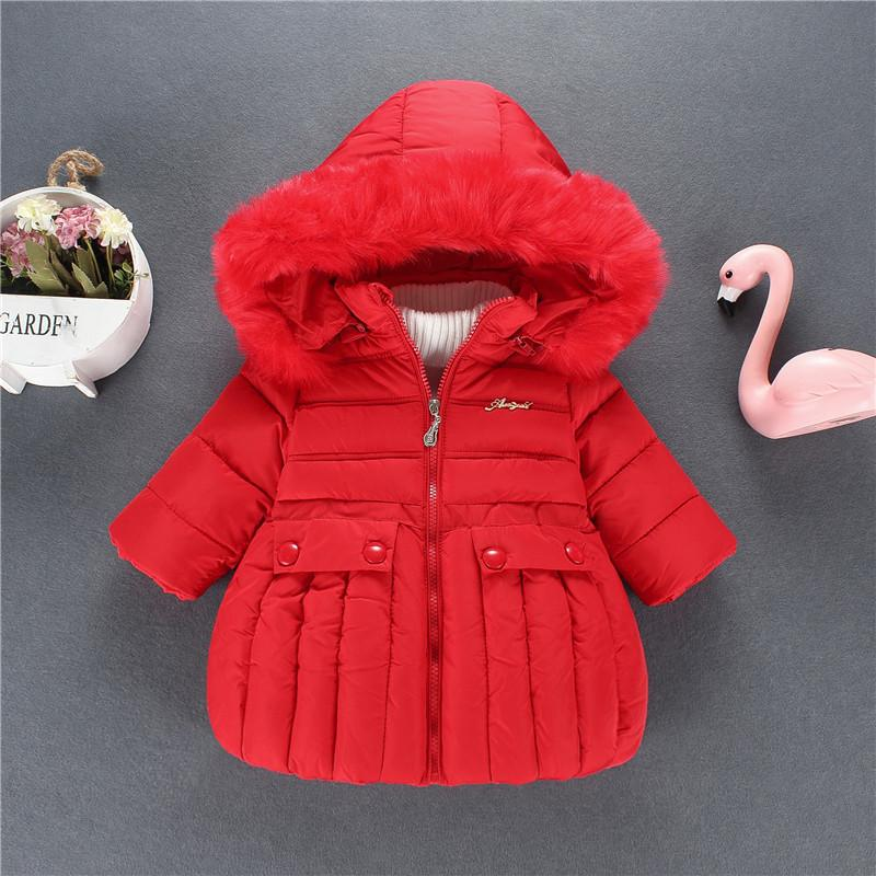 the best casual shoes hot-seeling original girl clothes 2019 Winter Jacket Baby Girl Winter Clothes Down Waterproof  Jackets for Girls 90% Cotton Winter Coats for Girls