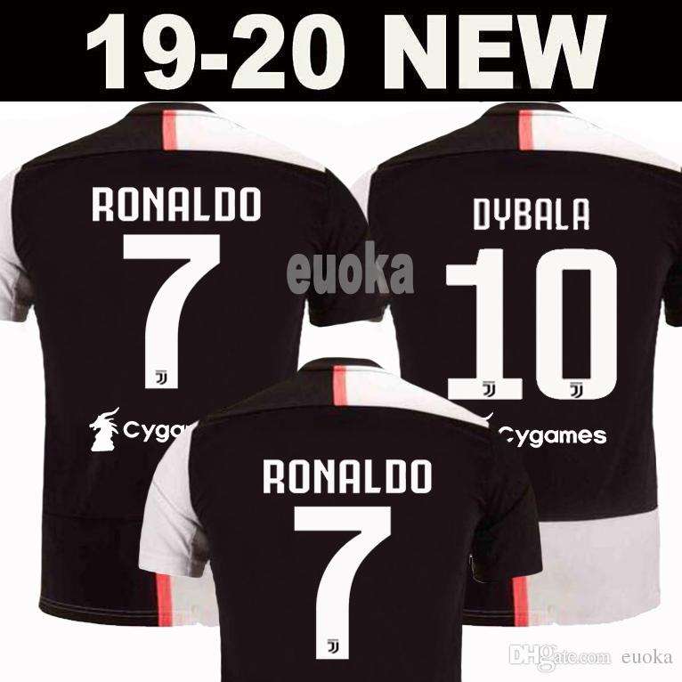 the latest 5139c d4c89 New 2019 RONALDO JUVENTUS Soccer Jersey 18 19 20 JUVE 2020 Home Away DYBALA  HIGUAIN BUFFON Camisetas Futbol Camisas Maillot Football Shirt