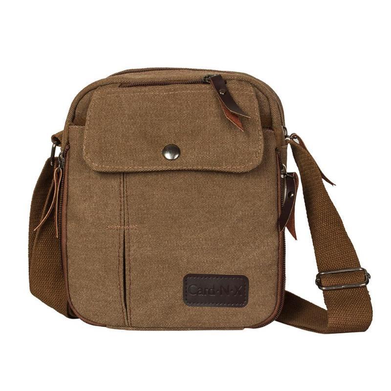 b71ef51a6e71 2019 New Canvas Shoulder Messenger Bags Men Travel Crossbody Bag Fashion  Male Satchel Storage Bags Bolsa Maleta Crossbody Bags Cheap Crossbody Bags  2019 New ...