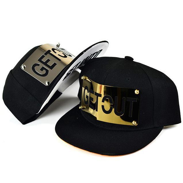 Baseball Caps For Man And Woman Snapback Hip Hop Metal Gold Silver ... 2dc61244e065