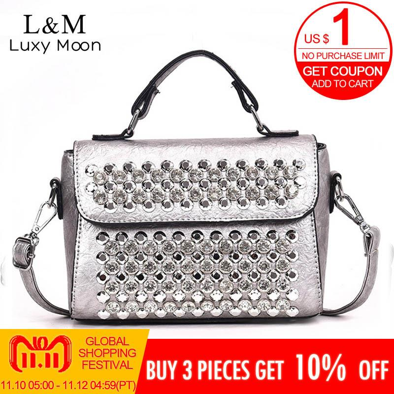 a775a9ffb1 2019 Fashion Famous Brand Ladies Handbags PU Leather Women Bag Casual  Diamond Shoulder Bags 2018 Sac Fashion Luxury Handbags Tote Bags XA  Crossbody Bags ...