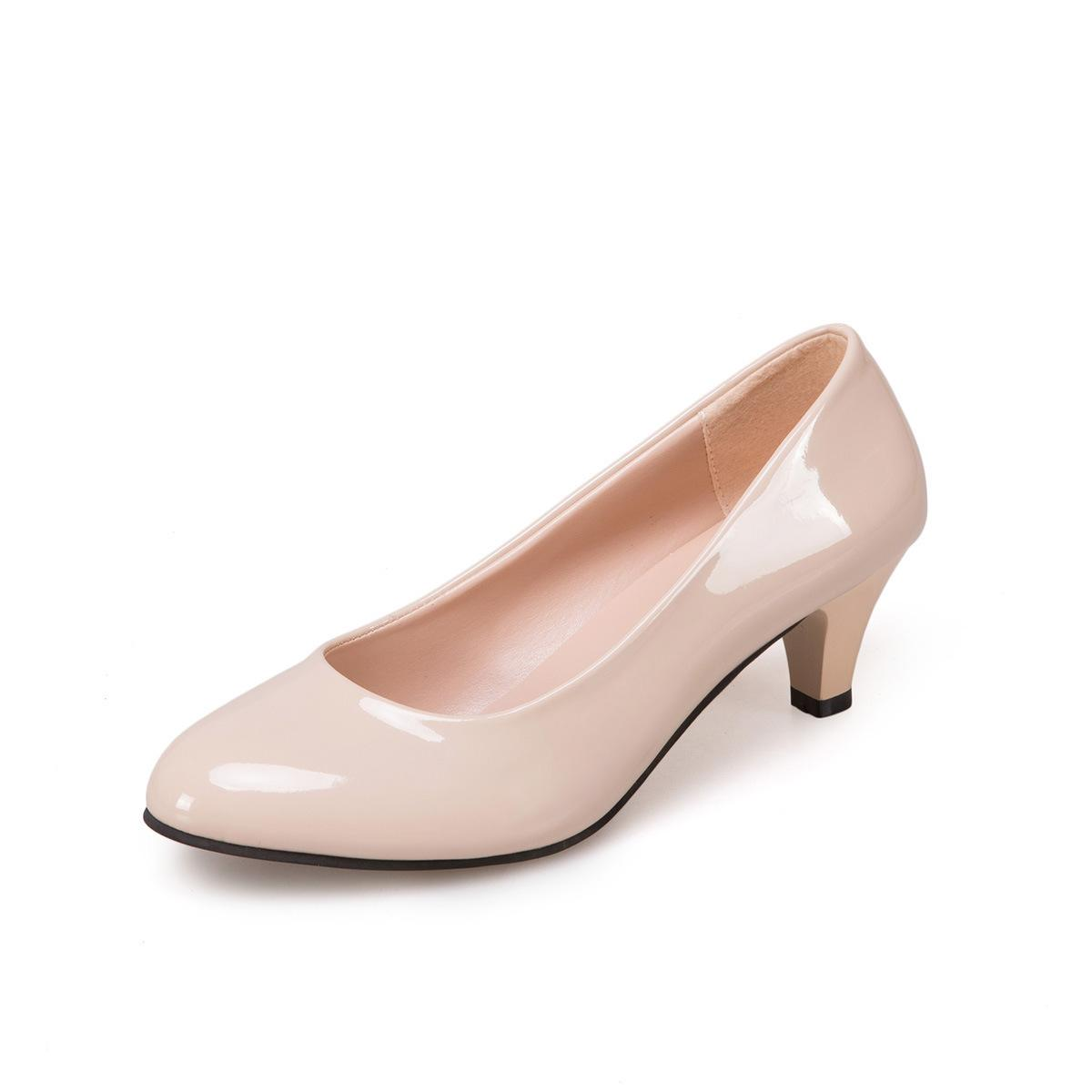 cb603f231a943 Compre Zapatos De Vestir De Diseñador 2019 Para Mujer Tacones Altos Bombas  Para Damas Slip On Elegante Sexy Clásicos Fiesta Vestido De Novia Moda Más  Tamaño ...