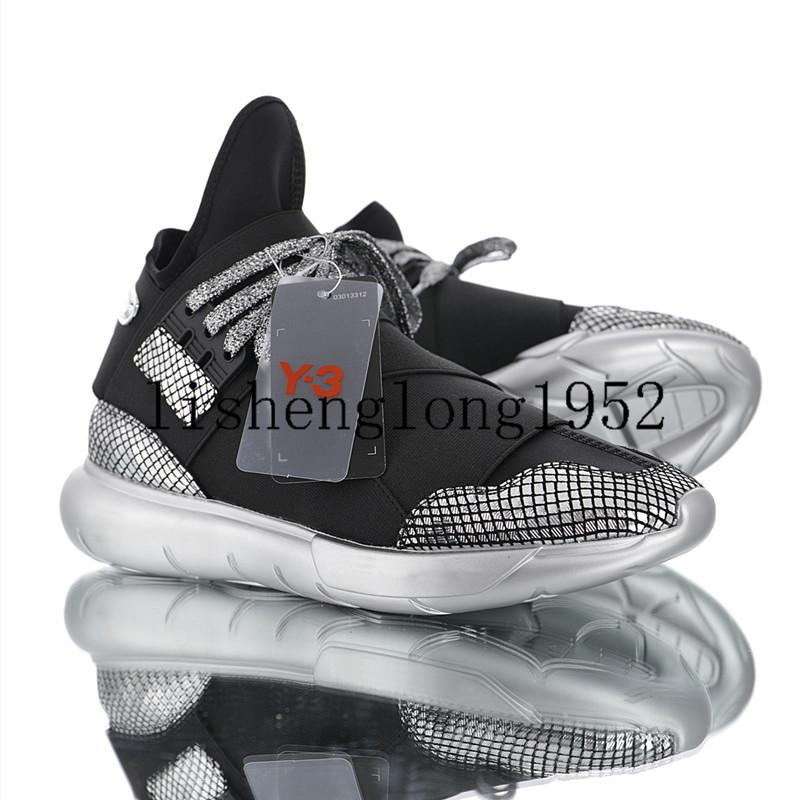 3273462ca 2019 Men Casual Shoe Y3 QASA Chunky Silver Shoes Y 3 Qasa Chunky Casual  Shoes Size 36 44 Sneakers Shoes Geox Shoes From Offwhitebrand