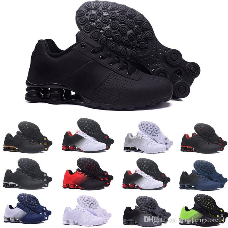 huge selection of 4894a ac287 Acheter 2018 Nike Air Shox Deliver NZ RunnING ShOes Pas Cher Original Blanc  Noir Shox NZ OZ Chaussures De Sport En Dentelle Sport Shox TURBO 21 Hommes  ...