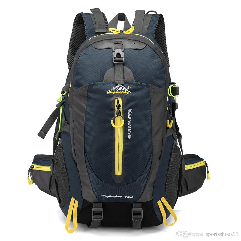 40L Waterproof Climbing Backpack Bike Bicycle Bag Travel Camp Hike ... 6b880c2d25136