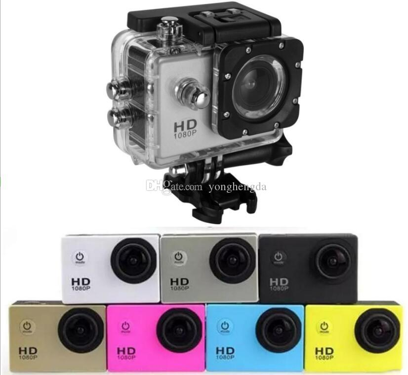 SJ4000 HD Action Digital Sport Camera 2 Inch Screen Waterproof 30M DV Recording Mini Sking Bicycle Photo Video