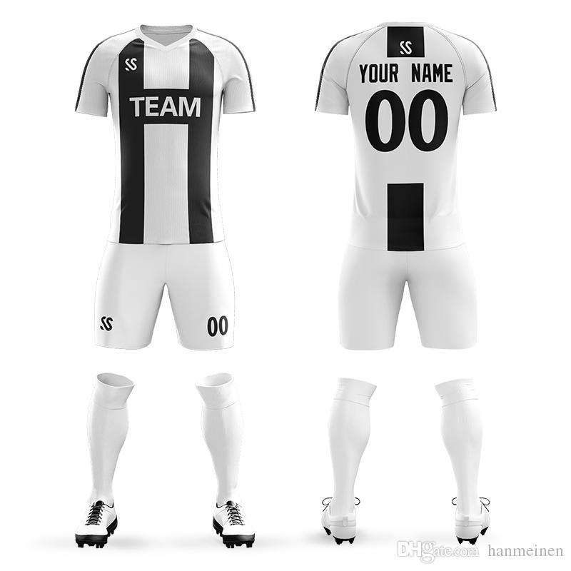 427038bc49d 2019 2019 Football Jerseys World Adults Youth Jerseys Blank Soccer Training  Suit Soccer Jersey & Shorts Sportswear Customized From Hanmeinen, ...