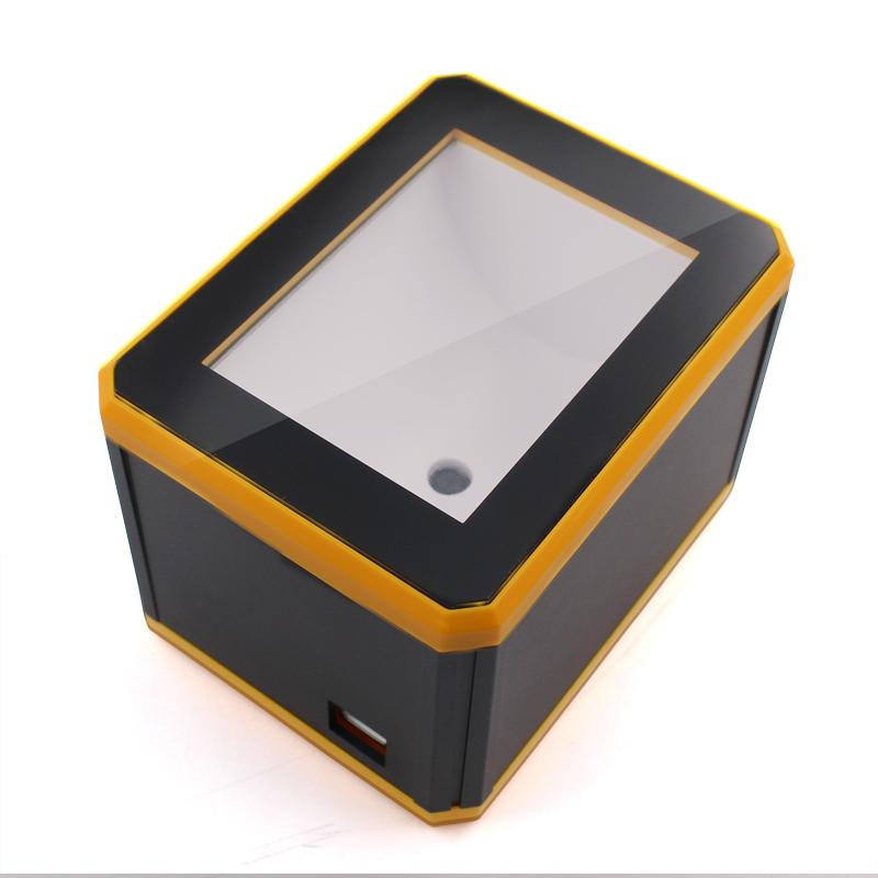 QR Reader Only For Mobile Screen Reading 2D Omnidirectional Scanner Yellow  Convenient Interfaces Profiles USB Scanner