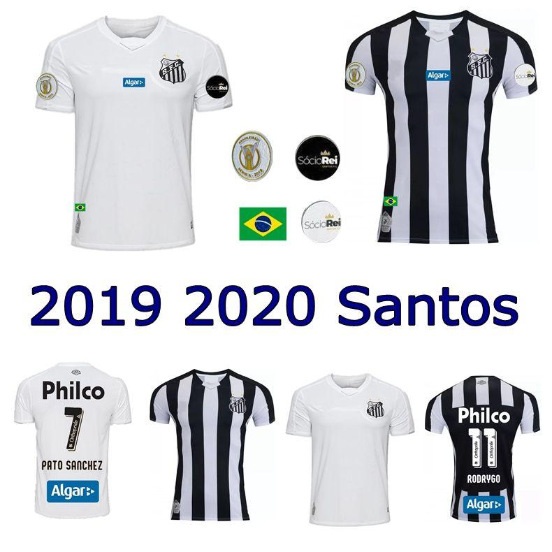bb1e1099f 2019 2019 Santos FC Soccer Jersey 19 20 Santos Home Away Gabriel RODRYGO  DODO RENATO SASHA Football Shirts From Wenxuan 0920