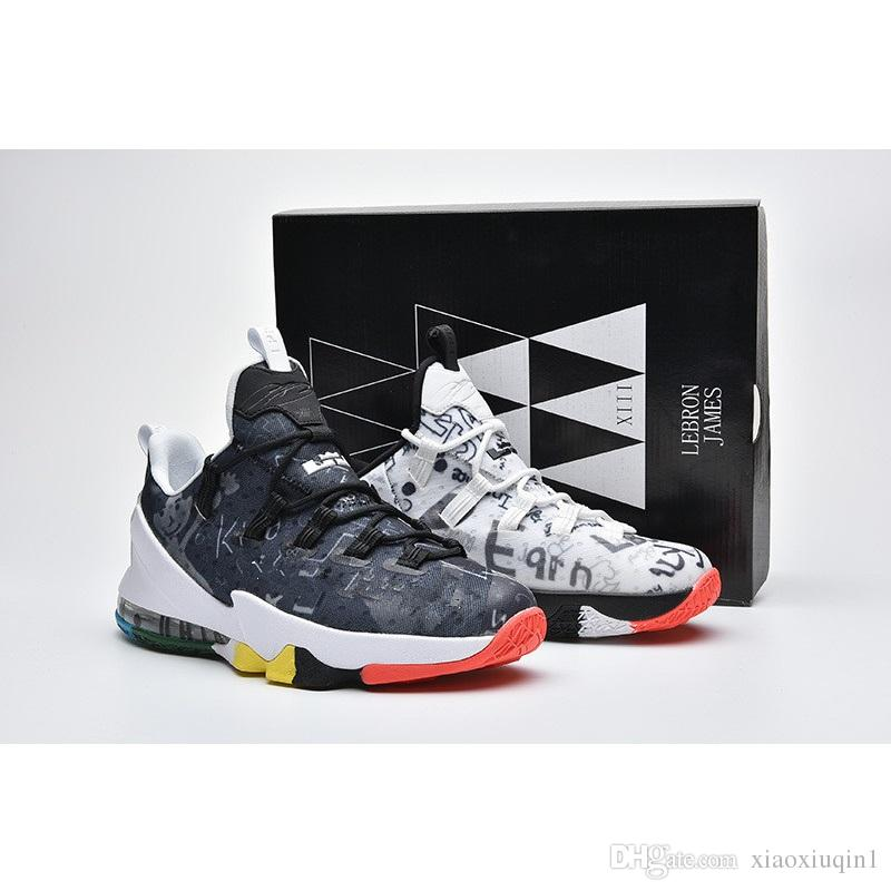 super cute 51705 518cb Lebron 13 low shoes mens basketball for sale MVP Christmas BHM Easter  Halloween Akronite DB youth sneakers with original box Size 7 12