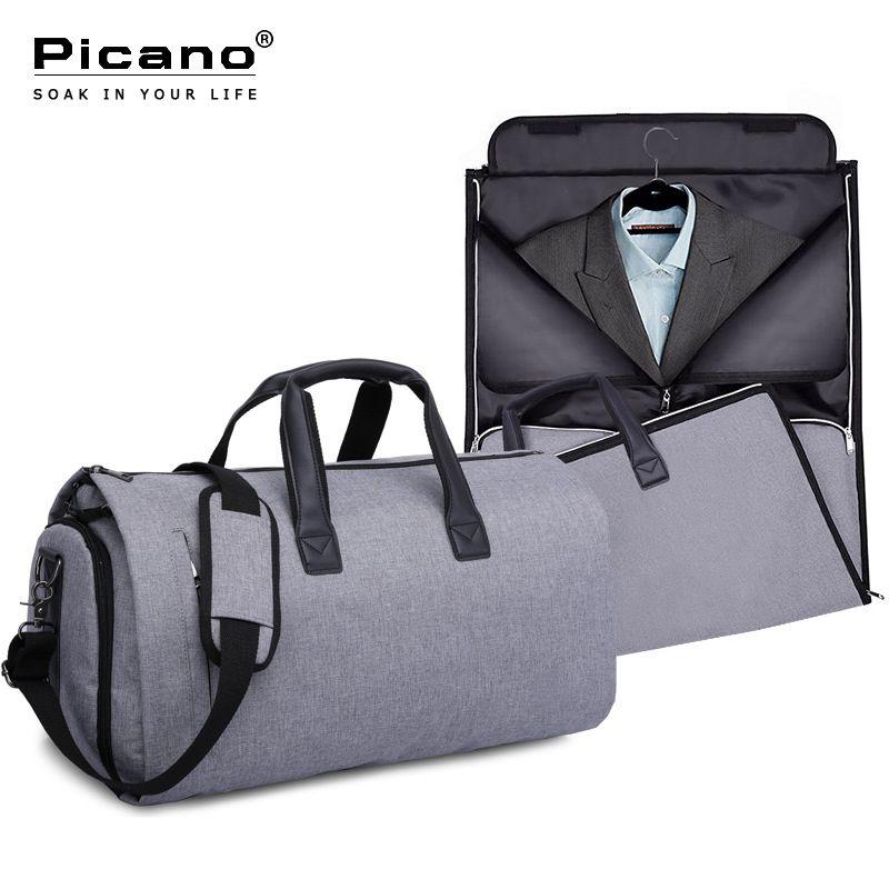 aaddaba60 Picano Convertible Garment Bag Carry On Garment Duffel Bag For Men Women 2  In 1 Hanging Suitcase Suit Trave Shoulder Sack PCN058 Shoulder Bags For  Women ...