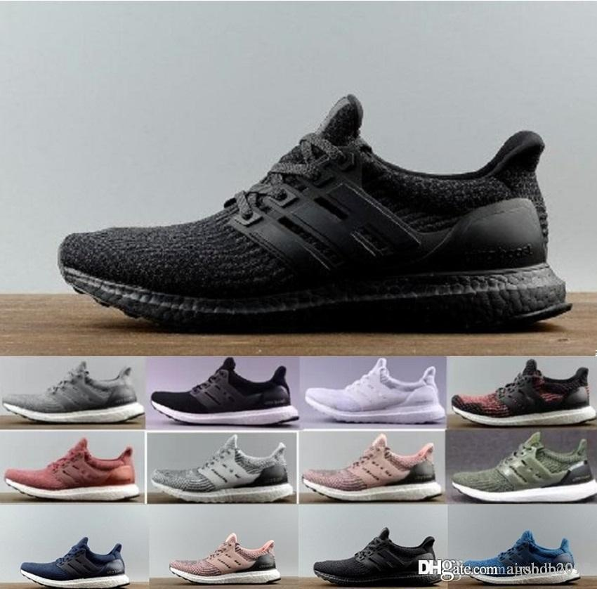 a2c9201bd68df Ultra Boost 3 0 Core Primeknit Runner Fashion Ultraboost 4 0 Uncaged Casual  Sneaker Sports Shoes For Men Women UB Shoes Eur 36 45   Vegan Shoes Comfort  ...