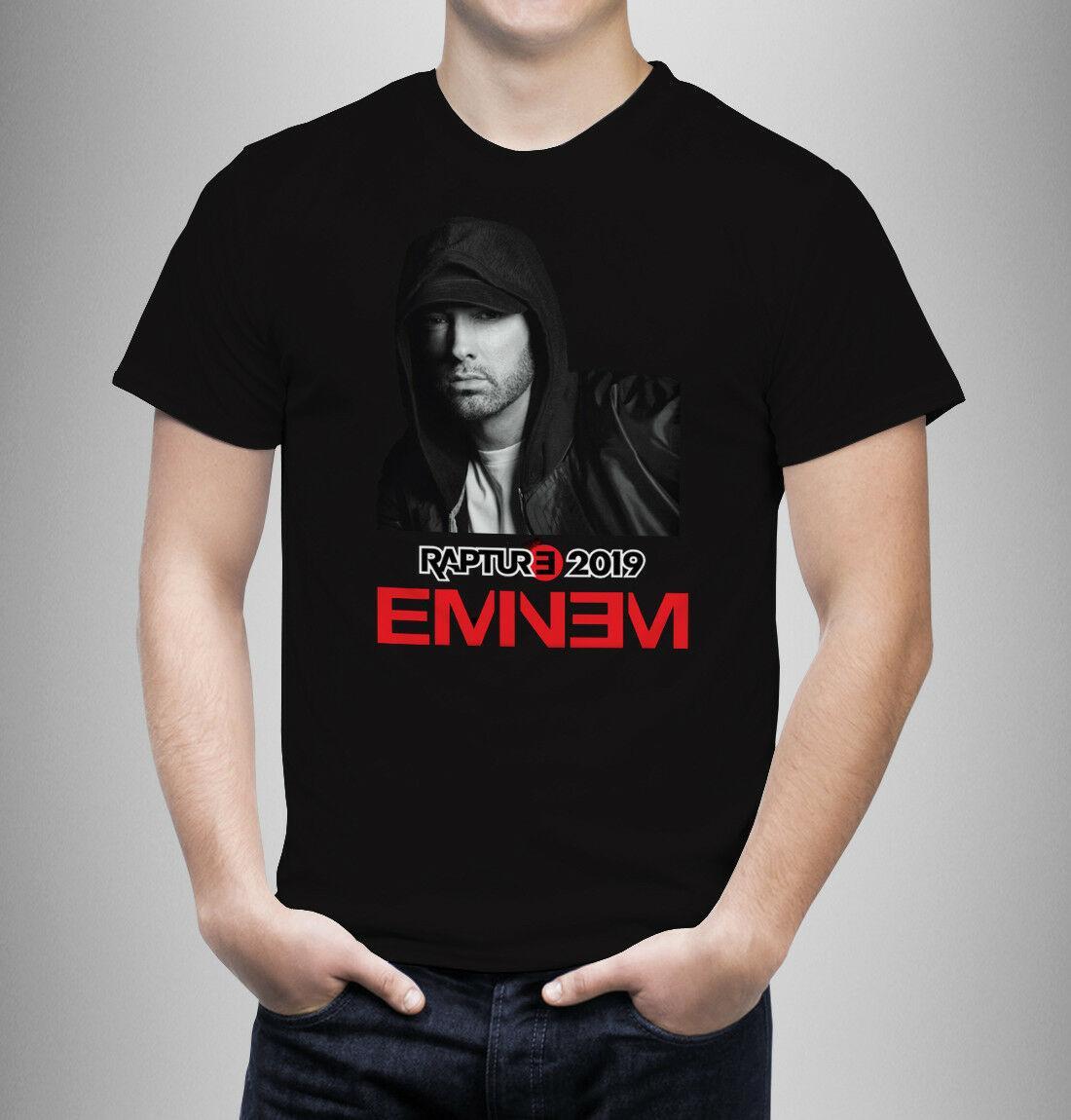 Eminem t-shirt Slim Shady tee Gift Music RAPTURE TOUR Tshirt New ticket Aus  2019 Funny free shipping Casual Tshirt
