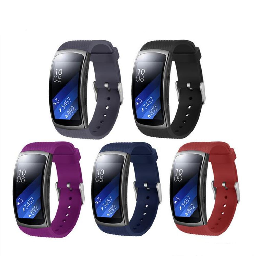 Sport silicone band for Samsung Gear Fit 2 Pro/Fit 2 strap Smart Watch replacement bracelet for Samsung Gear Fit2 Pro/Fit2