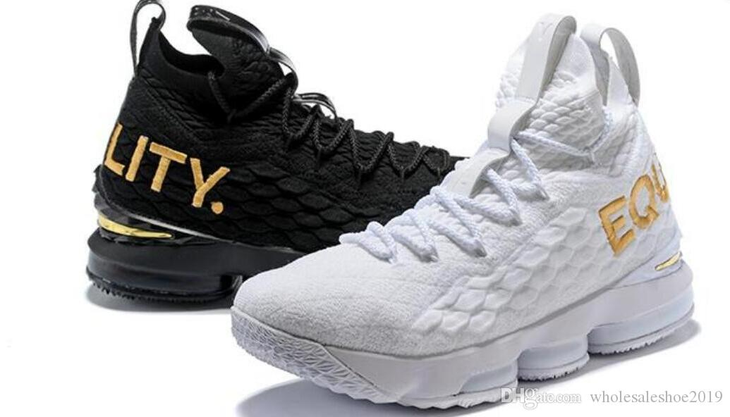 2019 fashion designer shoes cheap EQUALITY Black White fashion breathable Outdoor Shoes for Men 15s EP Training Sneakers Size 40-46